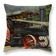 Supplying The Power Throw Pillow