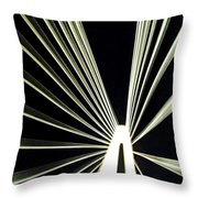 Support Night Throw Pillow