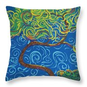 Supporting The Glow Throw Pillow