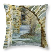 Supporting The Walls Throw Pillow