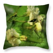 Supposition Throw Pillow