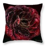 Supreme Rose Throw Pillow