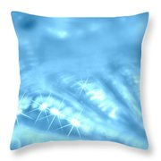 Surafce Of A Shell Throw Pillow by Riad Belhimer