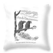 Sure, Dead Is Important.  But It Has To Taste Throw Pillow