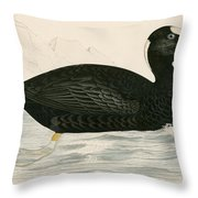 Sure Scoter Throw Pillow