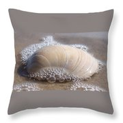 Surf Bubbles Throw Pillow