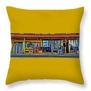 Surf N Sea Throw Pillow