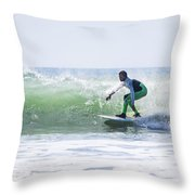 Surf Series 21 Throw Pillow