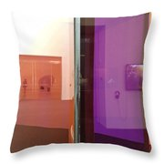Surface And Reflection Throw Pillow