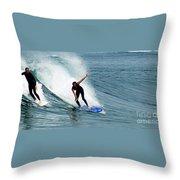 Surfer 1 Throw Pillow