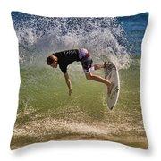 Surfer 9222013 Throw Pillow