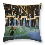 Surfer Dude 2 Throw Pillow