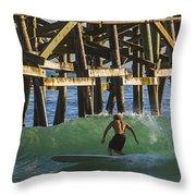 Surfer Dude 3 Throw Pillow