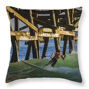 Surfer Dude 4 Throw Pillow