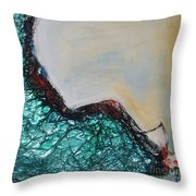 Surfing 1 Throw Pillow
