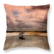 Surf Day Throw Pillow
