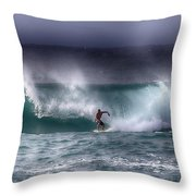 Surfing In The Usa V10 Throw Pillow