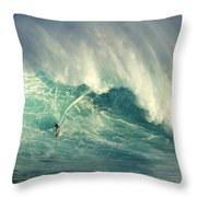 Surfing Jaws Hang Loose Brother Throw Pillow