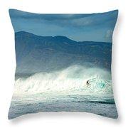 Surfing Light Throw Pillow
