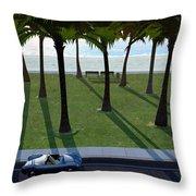 Surfside Throw Pillow by Cynthia Decker