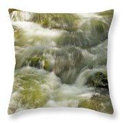 Surging Water Throw Pillow