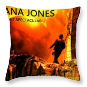 Surprise Indy Throw Pillow