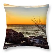 Surprise Sunrise Throw Pillow