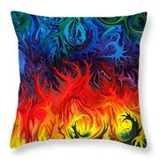 Surreal Dance By Rafi Talby   Throw Pillow