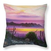 Surreal Desert II Throw Pillow