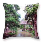 Surreal Setting Throw Pillow