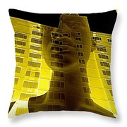 Surreal Thoughts Throw Pillow