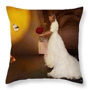 Surreal Wedding Throw Pillow
