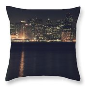 Surrender All Your Dreams To Me Tonight Throw Pillow by Laurie Search