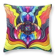 Surrender Throw Pillow by Teal Eye  Print Store