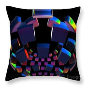 Surround Sound By Jammer Throw Pillow