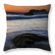Surrounded By The Tide Throw Pillow