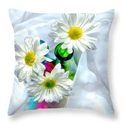Surrounded In Love Throw Pillow