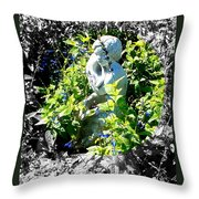 Surrounded With A Wreath Of Love Throw Pillow