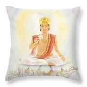 Surya The Sun Throw Pillow