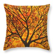 Suryavriksh Throw Pillow