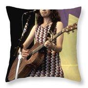 Susanna Hoffs Throw Pillow