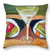 Sushi 1 Throw Pillow