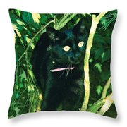 Susie In Tree Throw Pillow