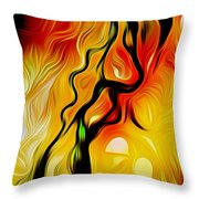 Susitna River Alaska Throw Pillow