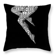 Suspended 2 - Nude Art By Sharon Cummings Throw Pillow