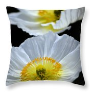 Suspended Beauty Throw Pillow