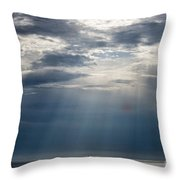 Suspended Between Heaven And Earth Throw Pillow