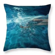 Susperia Throw Pillow by Mia Tavonatti