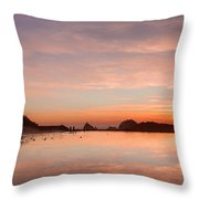 Sutro Baths Throw Pillow