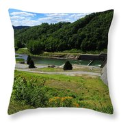 Sutton Dam Throw Pillow